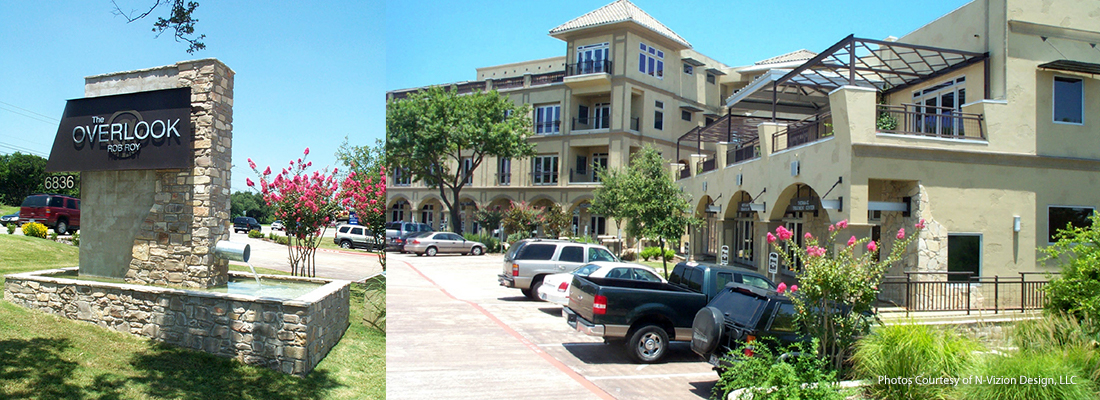 The Overlook at Rob Roy office complex. Austin, Texas. Civil, Structural & MEP Engineering
