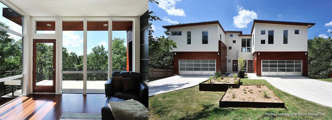 Duplexes. Austin, Texas. Survey & Structural Engineering