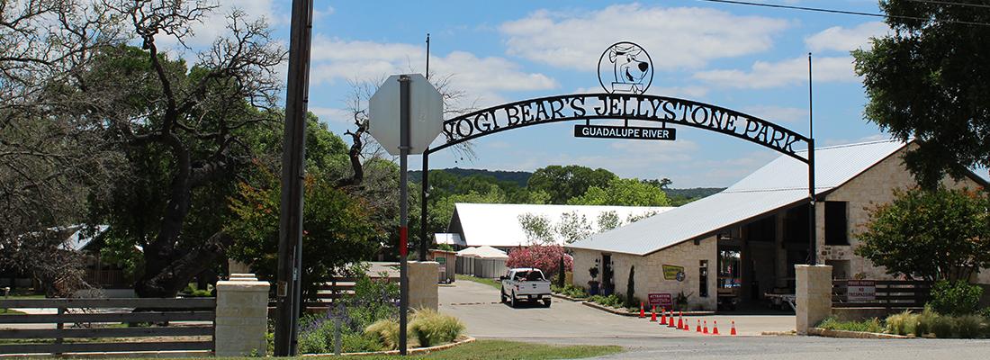 Yogi Bear's Jellystone Park Water Slide. Kerrville, Texas, Plan Review