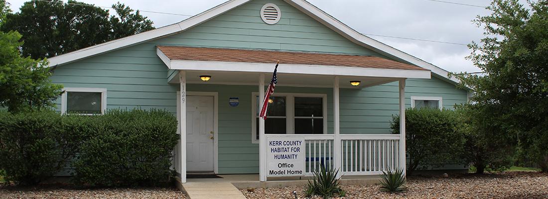 Habitat For Humanity. Kerrville, Texas. Energy Testing