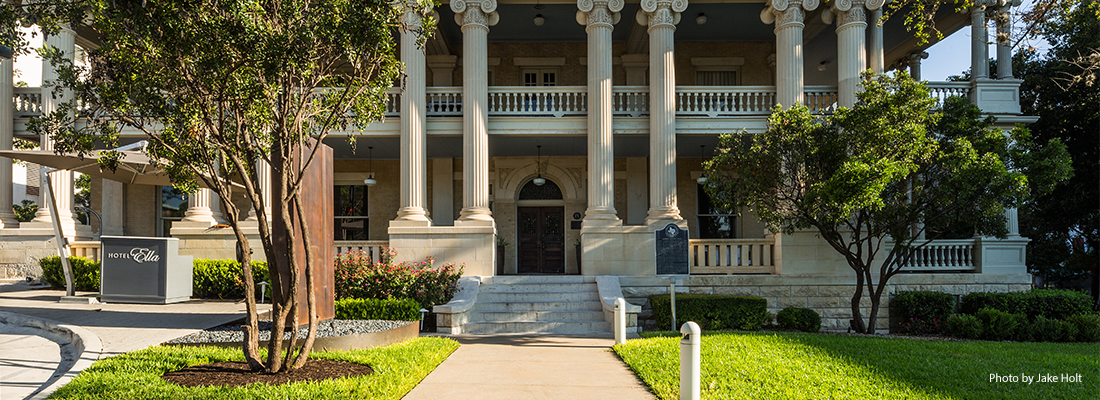 Hotel Ella. Austin, Texas. Structural Engineering of a historical building