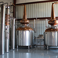 MEP Engineering Design Iron Wolf Distillery